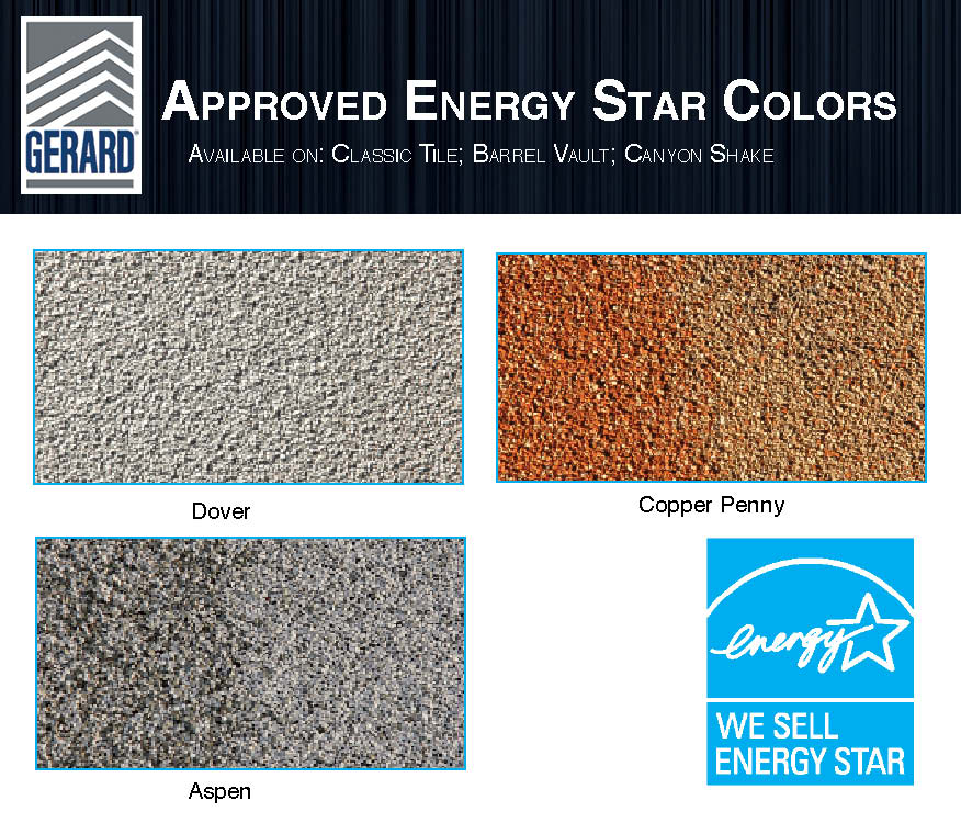 Gerard Energy Star Colors
