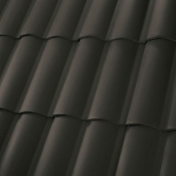 black tile roofing