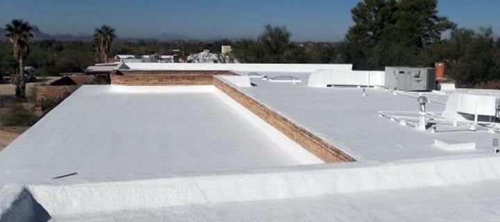 Garland roofing coating