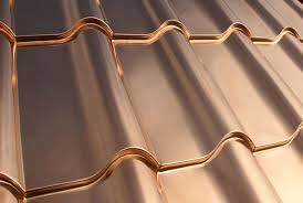 copper roof installation