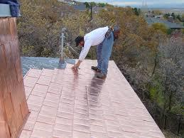 Copper roofing repairs