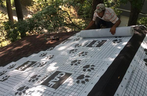 Roofing Felt Installation : Gaf timberline