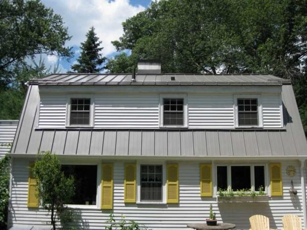 standing seam roofs